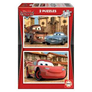 EDUCA puzzle CARS 2 Red 2 X 20