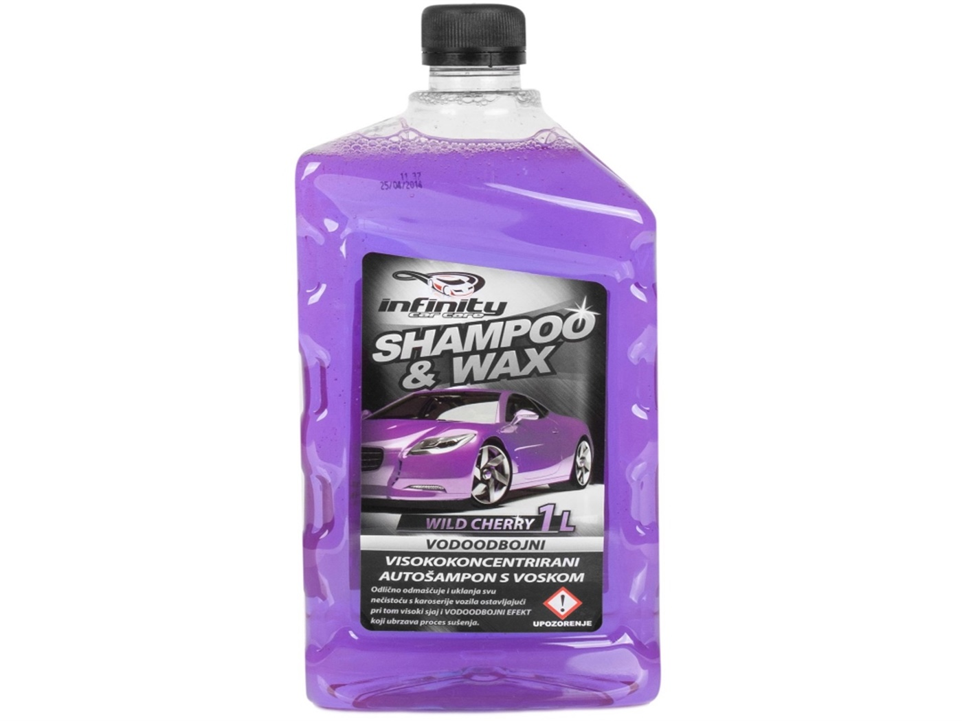Šampon  s  voskom   infinity  car  care   1