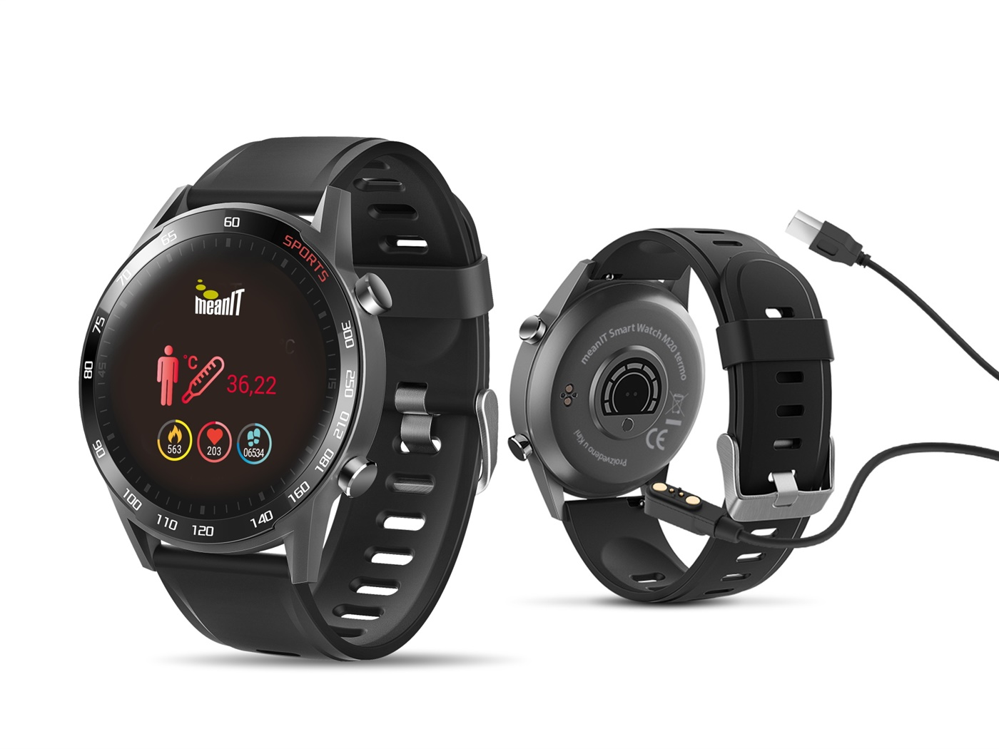 Sportski sat MeanIt Smart Watch M20 Termo