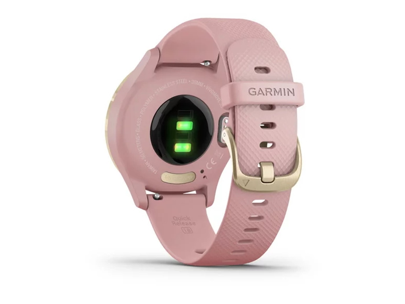 Garmin  vivomove   3 s  light  gold  dust  rose