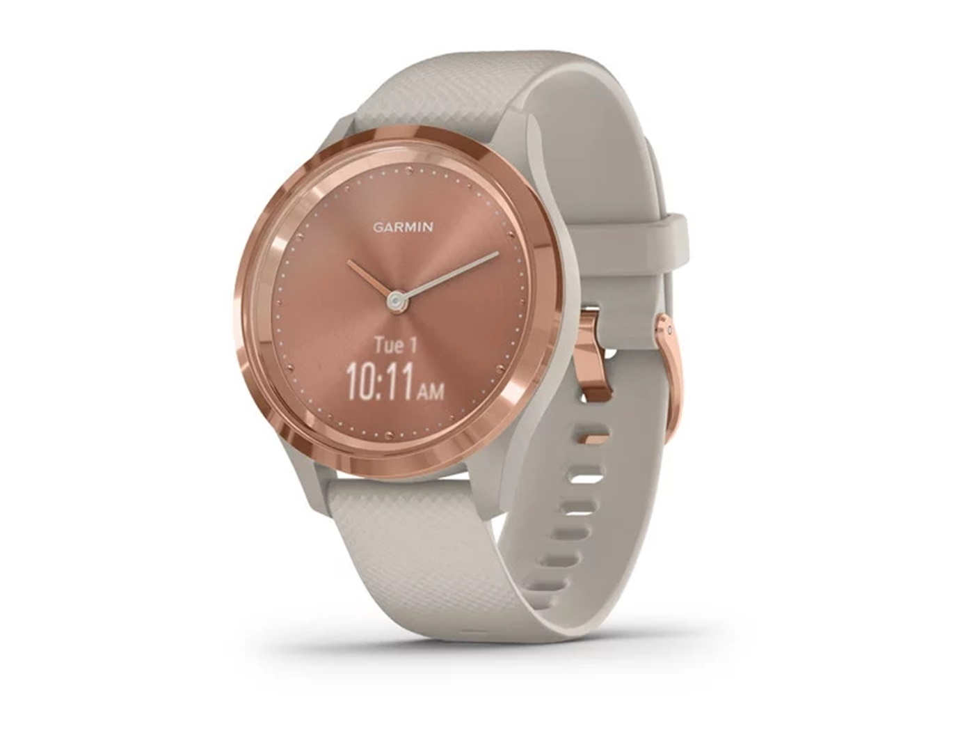 Garmin  vivomove   3 s  rose  light  sand