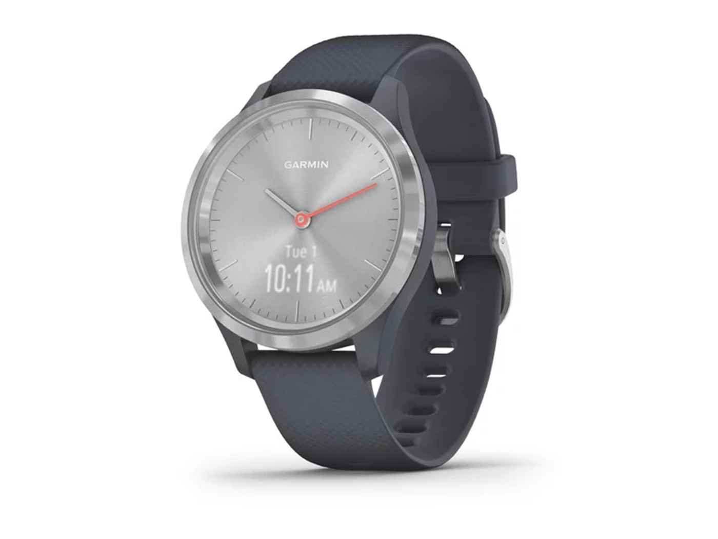Garmin  vivomove   3 s  silver  granite  blue