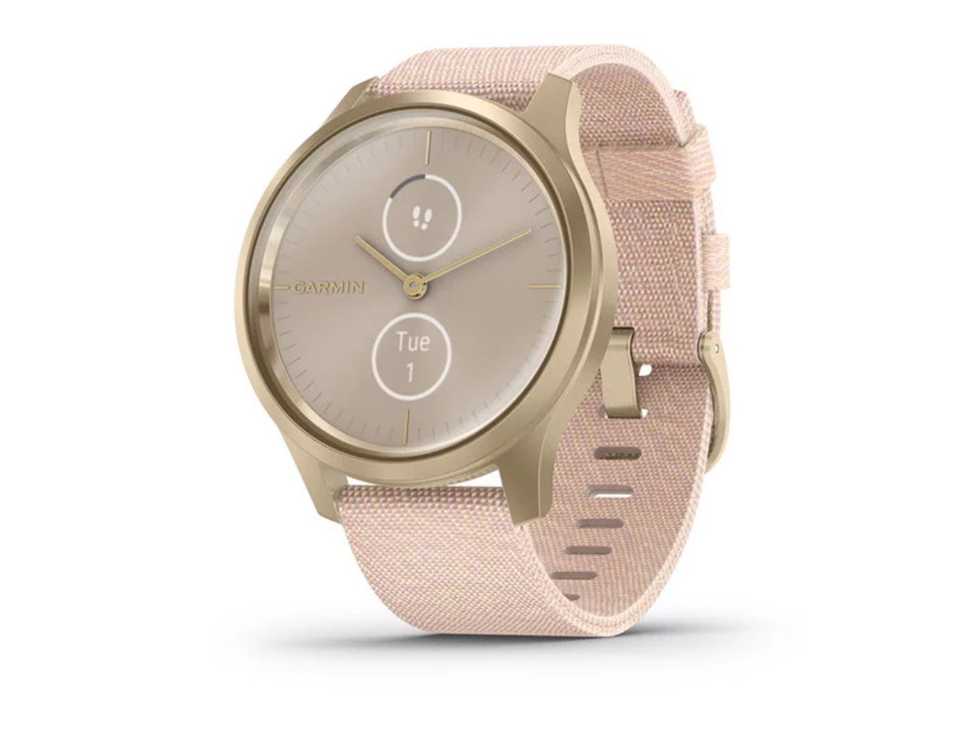Garmin  vivomove  style  light  gold  blush  pink