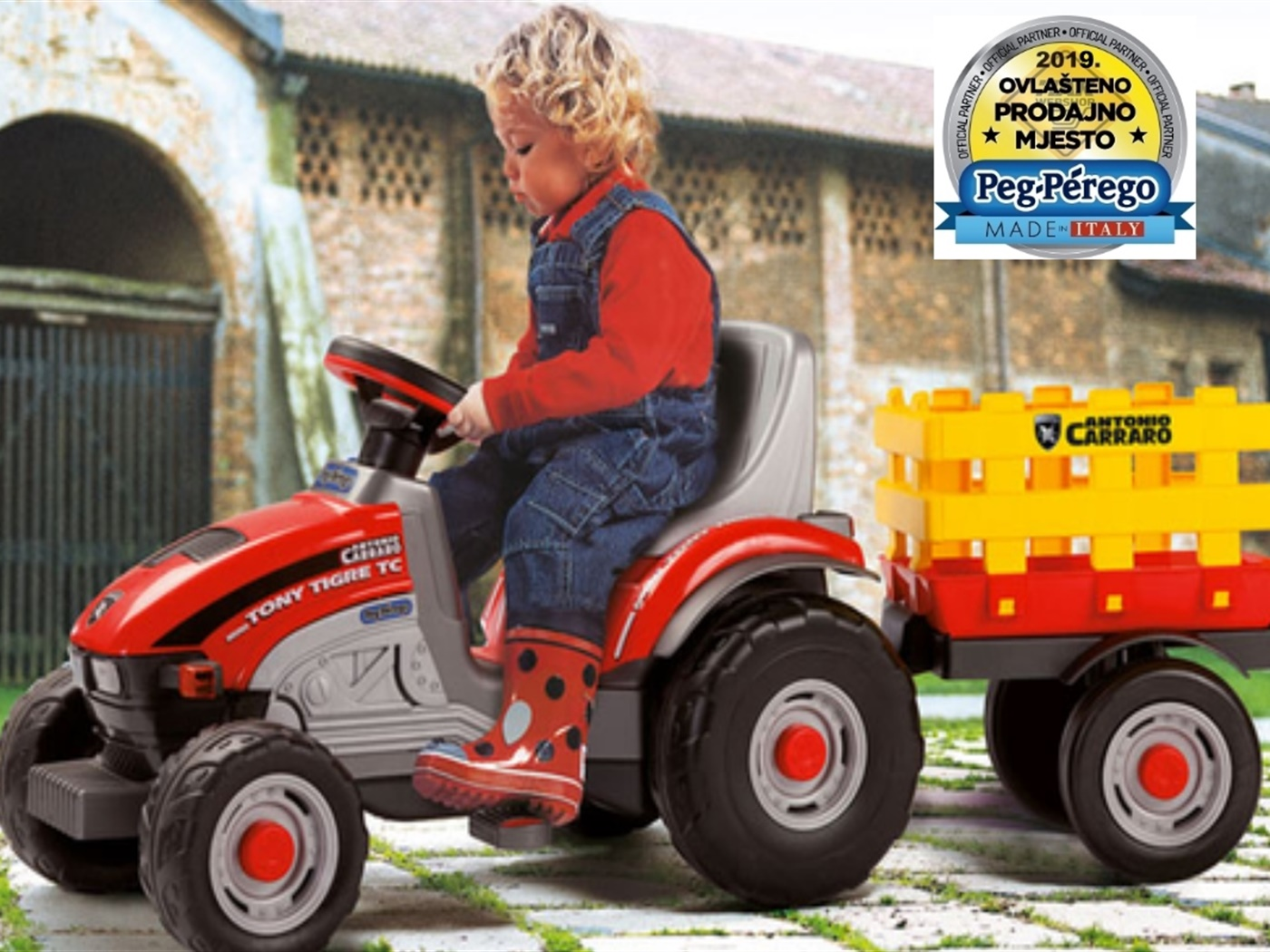 Peg Perego Mini Tony Tigre