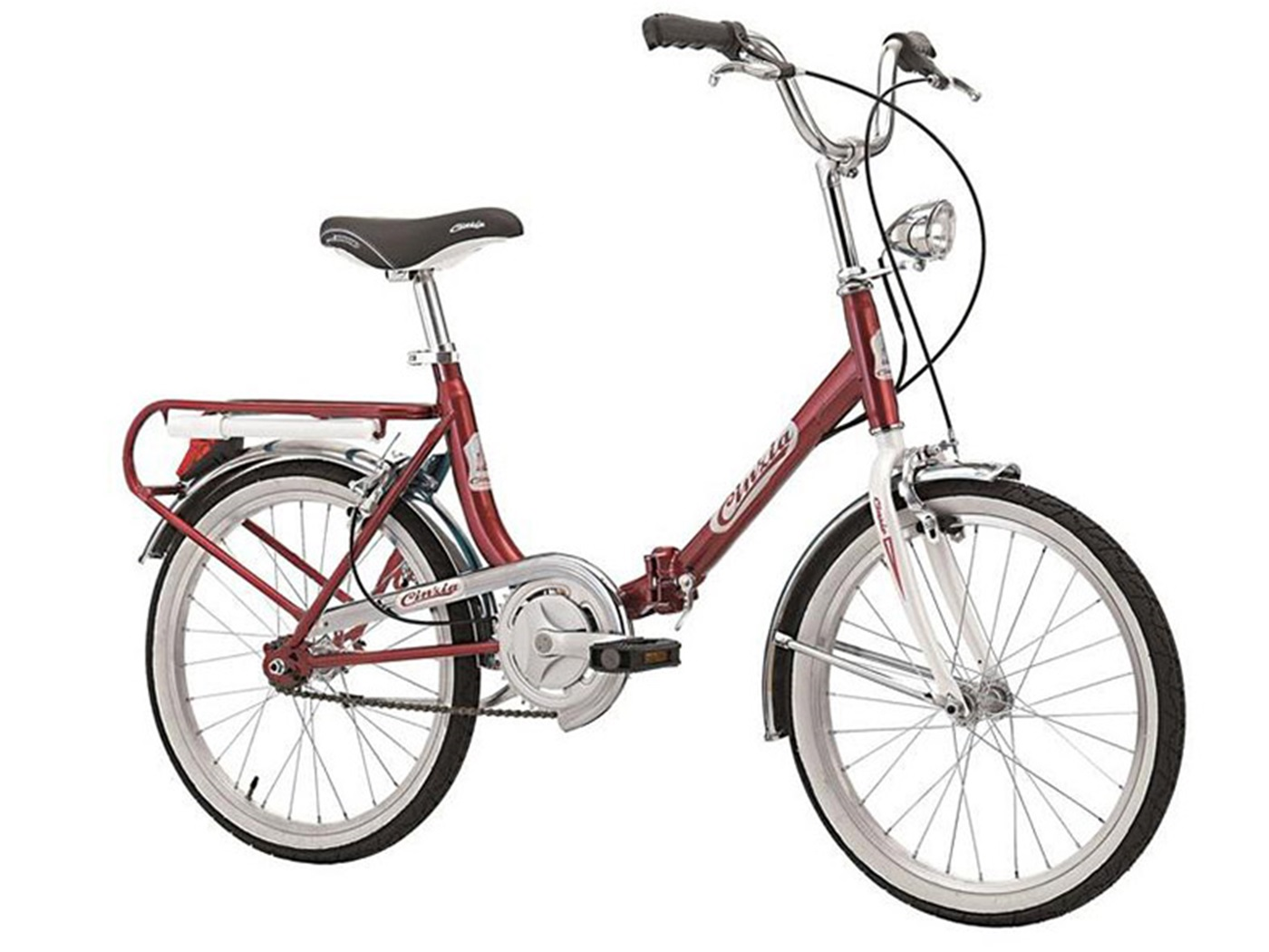 "Cinzia FIRENZE 20"" Single speed Red - White"