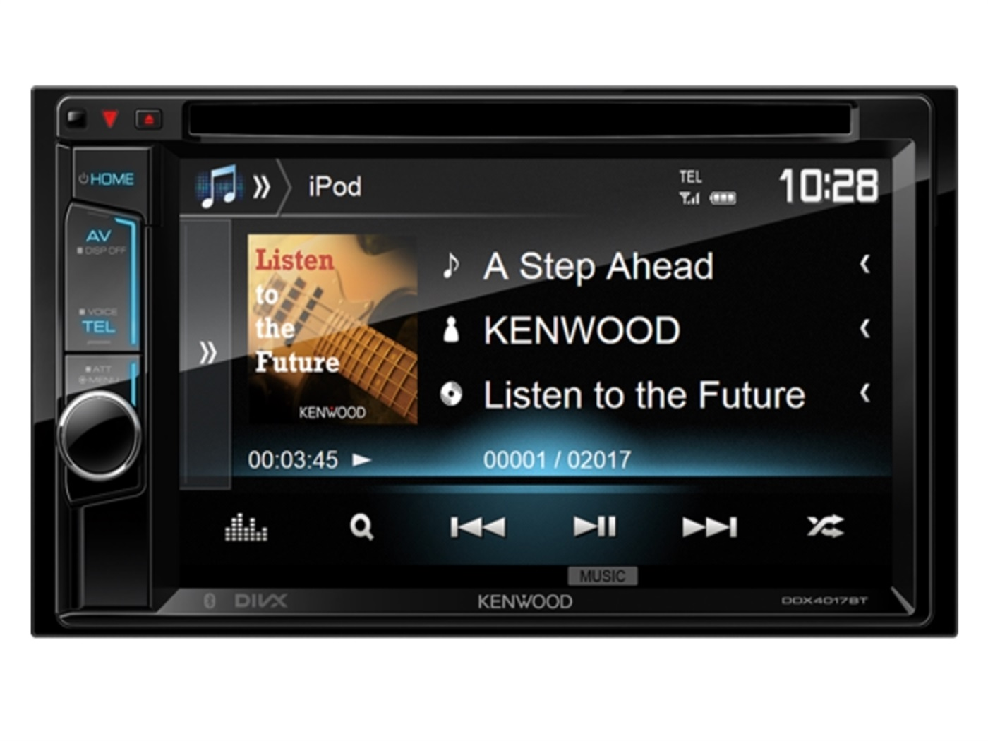 Auto radio KENWOOD DDX-4017BT