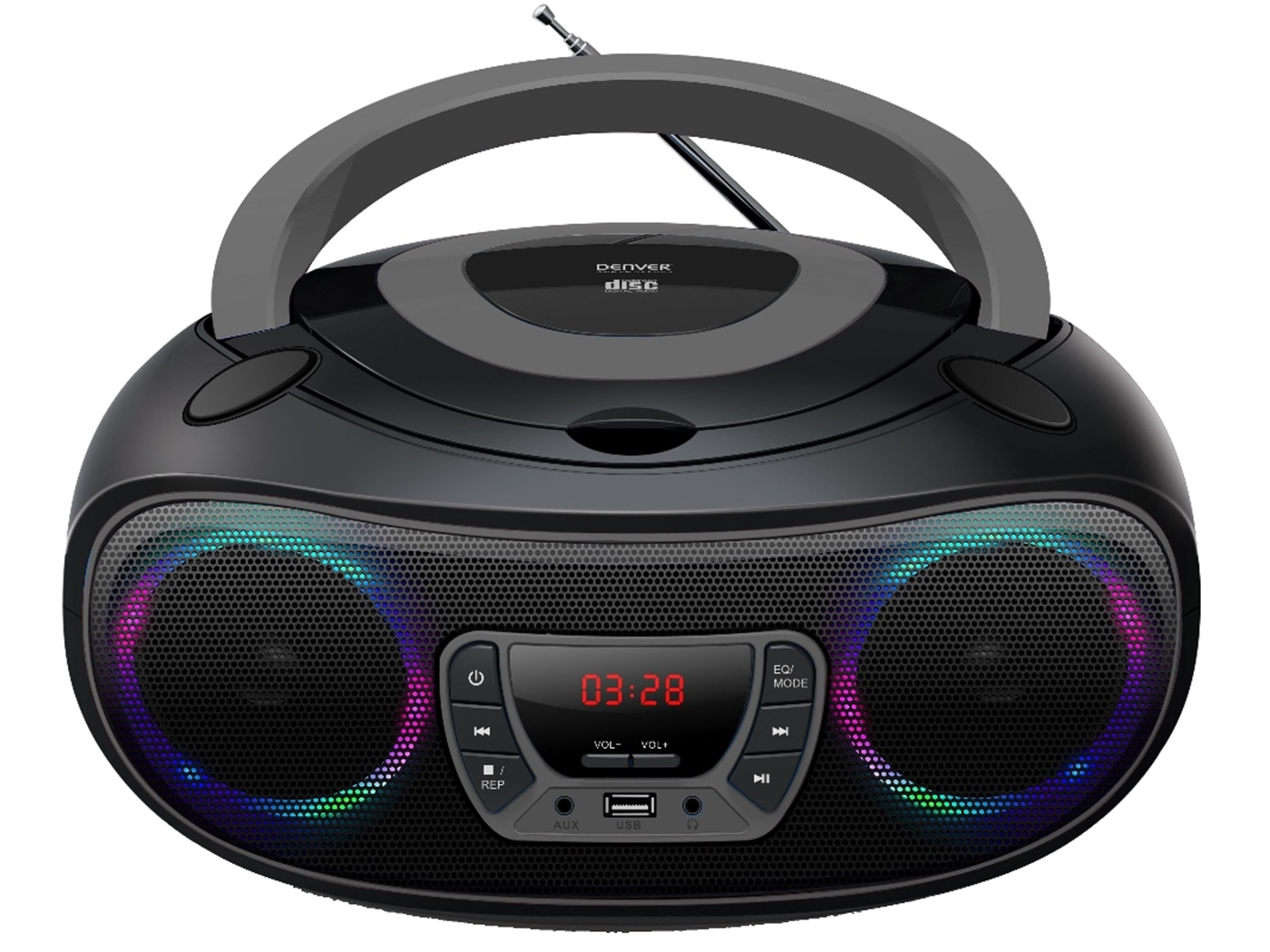 DENVER BOOMBOX RADIO/CD/USB/BT TCL-212BT