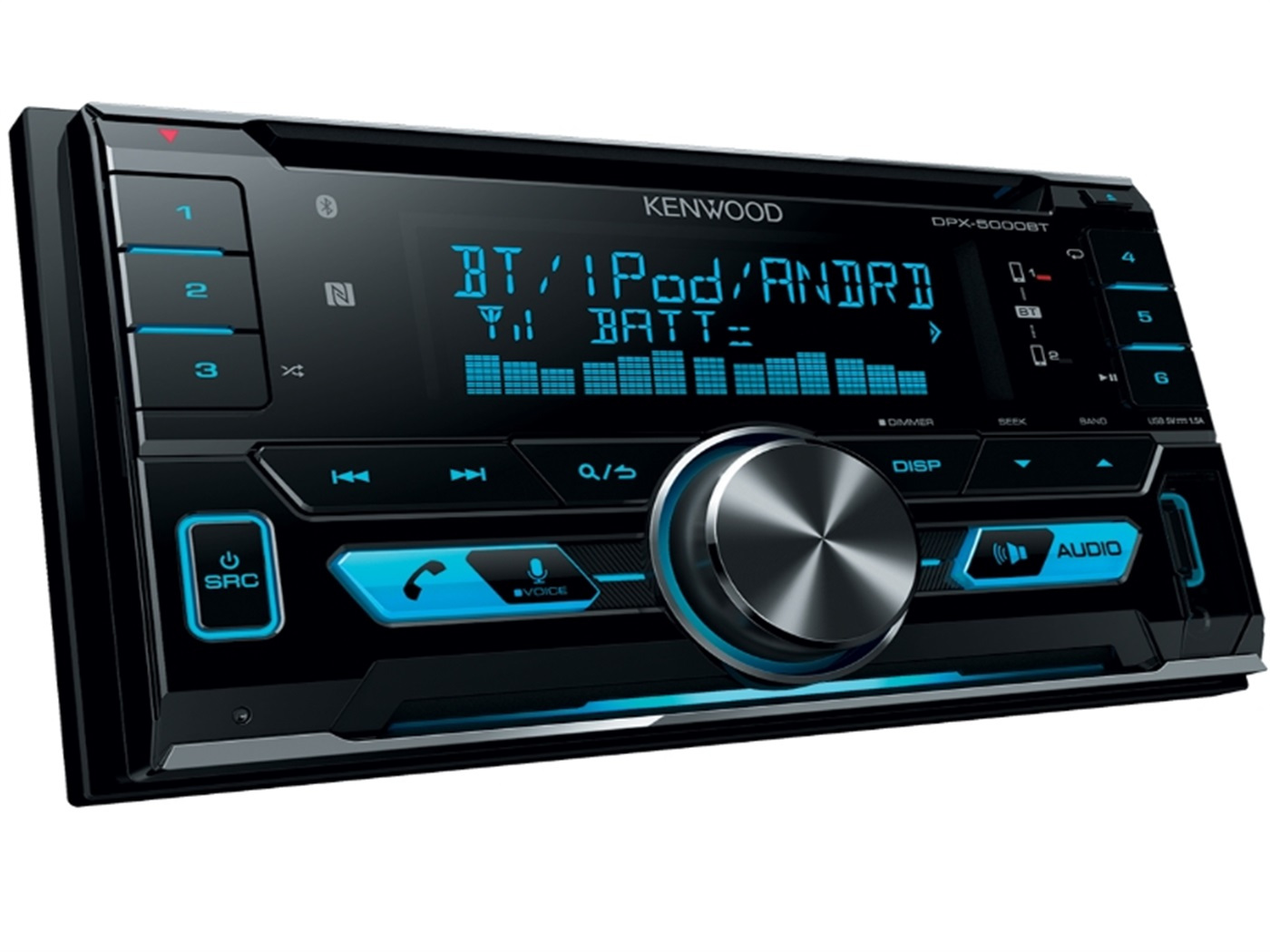 Auto radio KENWOOD DPX-5000BT