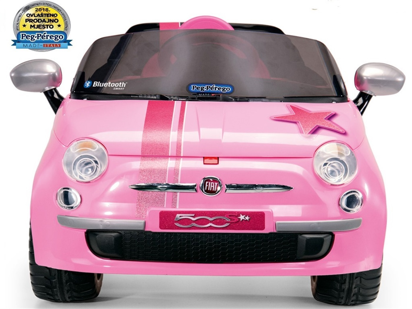 peg  perego  fiat   5 0 0   s  pink