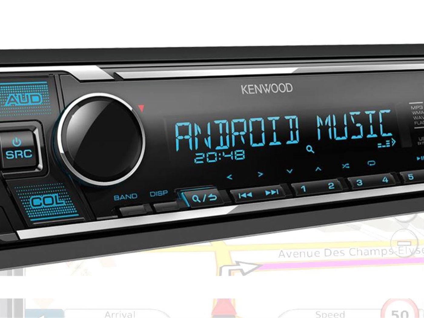 Auto radio KENWOOD KMM-125