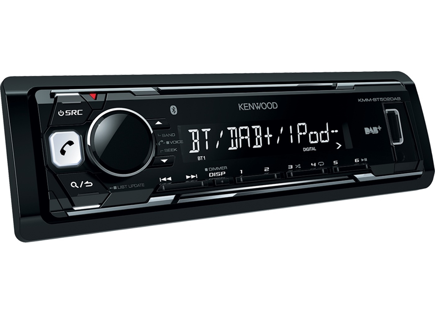 Autoradio Kenwood KMM-BT502DAB