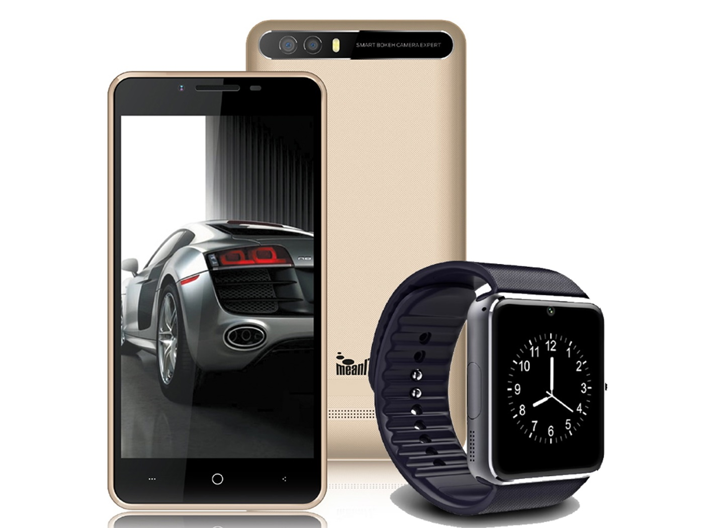 MeanIT smartphone C41 + smartwatch M3