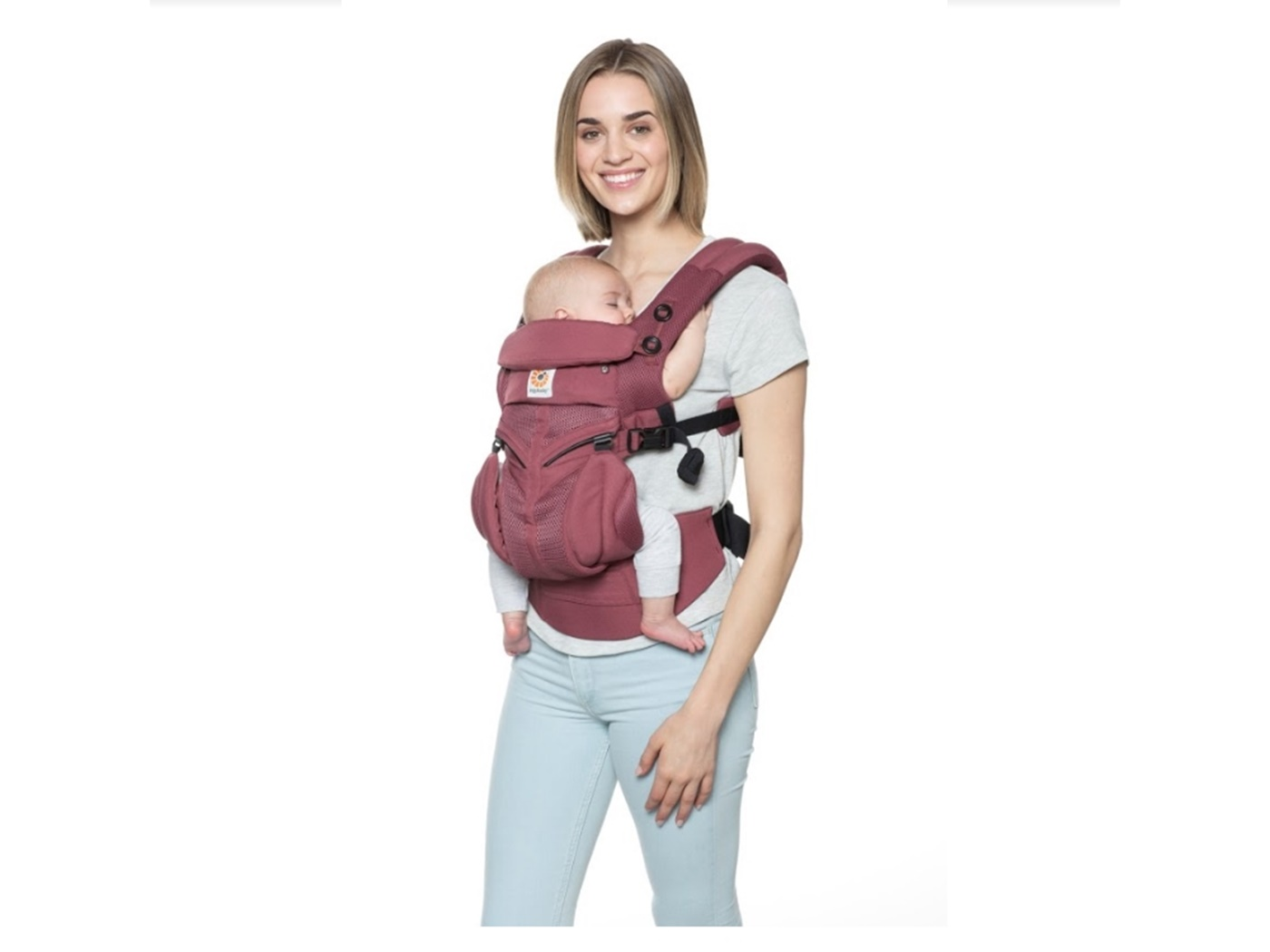 erogobaby  cool  air  omni 3 6 0   plum