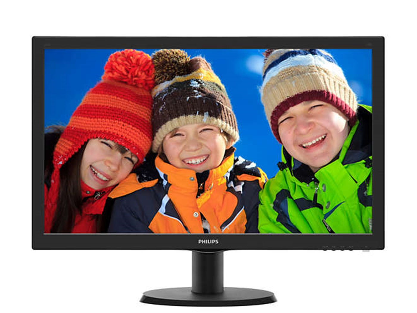 "Philips 23,6"" 243V5LHAB5 LED, VGA, DVI, HDMI, zvu."