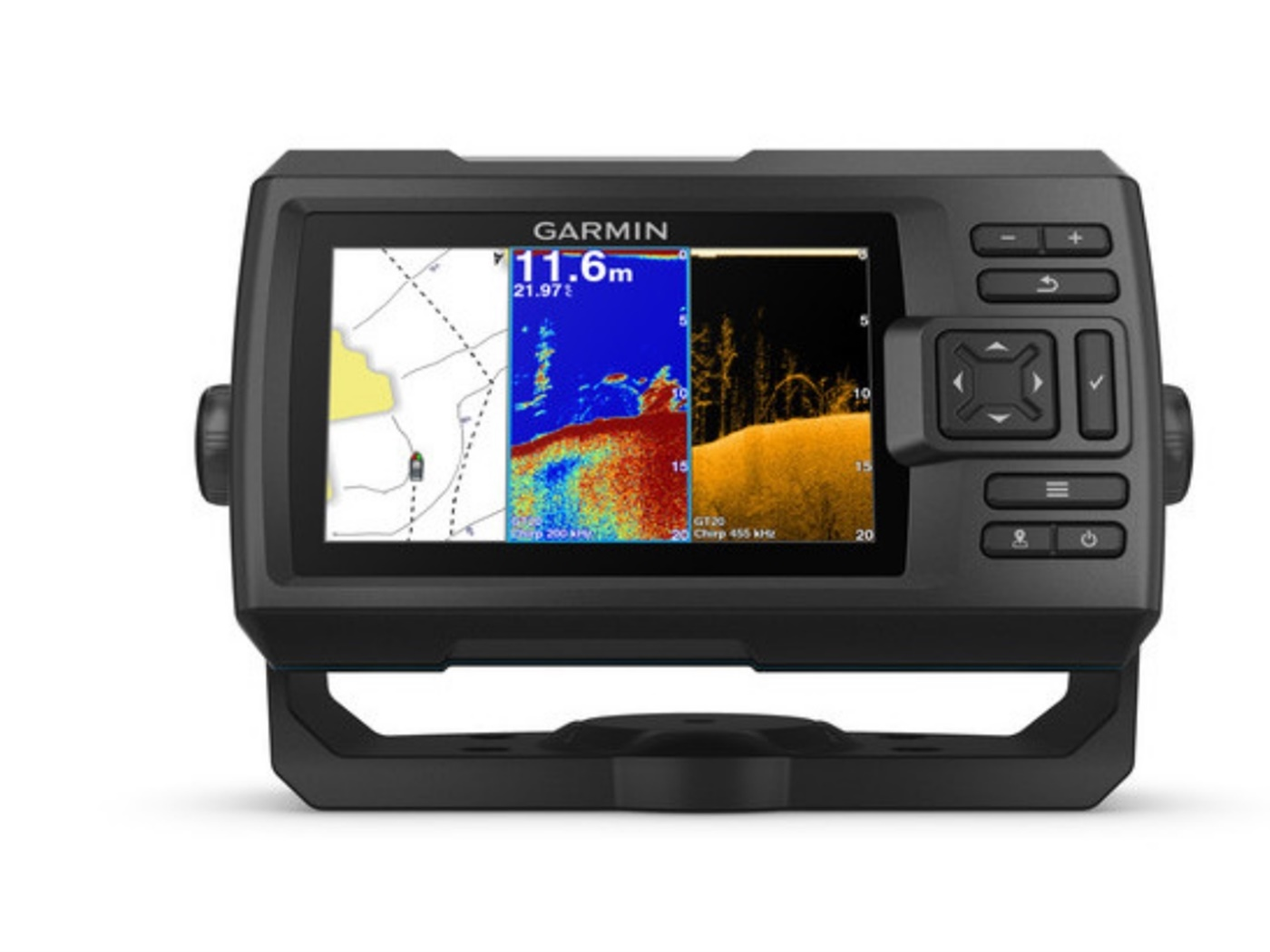 Garmin STRIKER™ Plus 5cv bez sonde, GPS