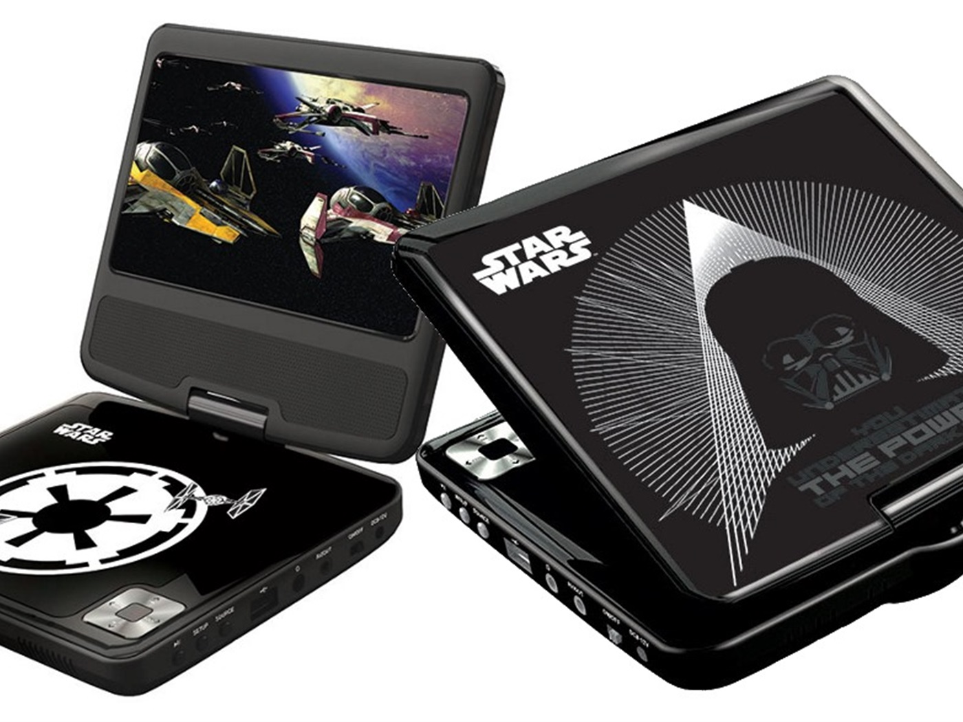 LEXIBOOK STAR WARS PRIJENOSNI DVD PLAYER DVDP6SW00