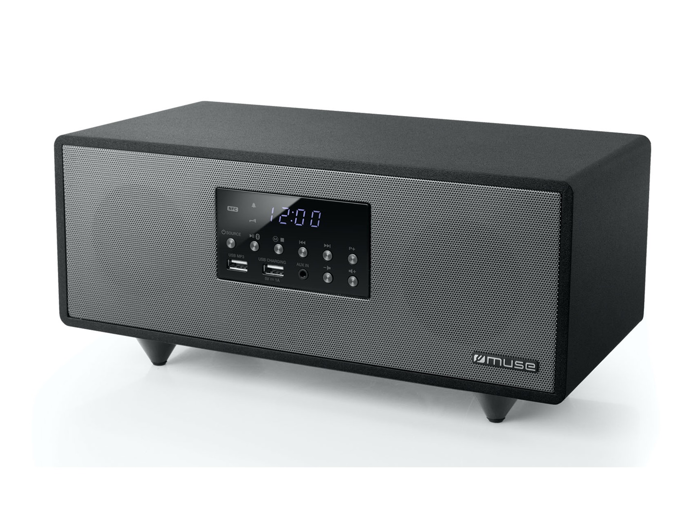 MUSE mikro HIFI linijaMP3/BT/USB/MP3 M-630BT