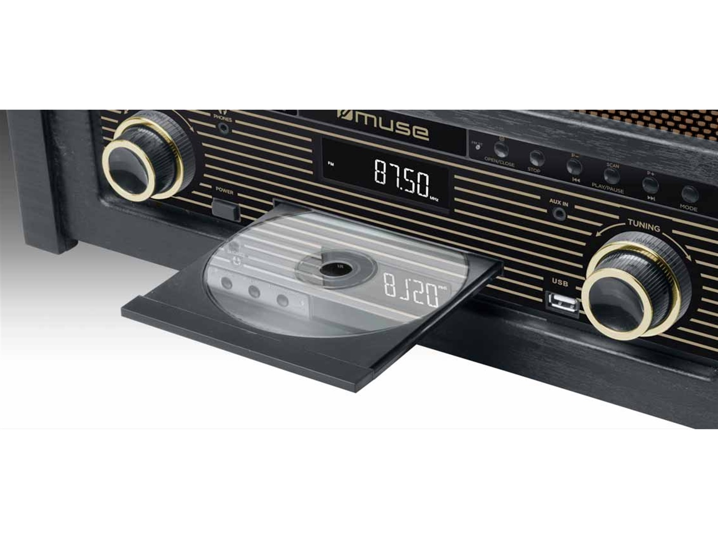 autoradio  gramofon  muse   m t   1 1 5w  cd