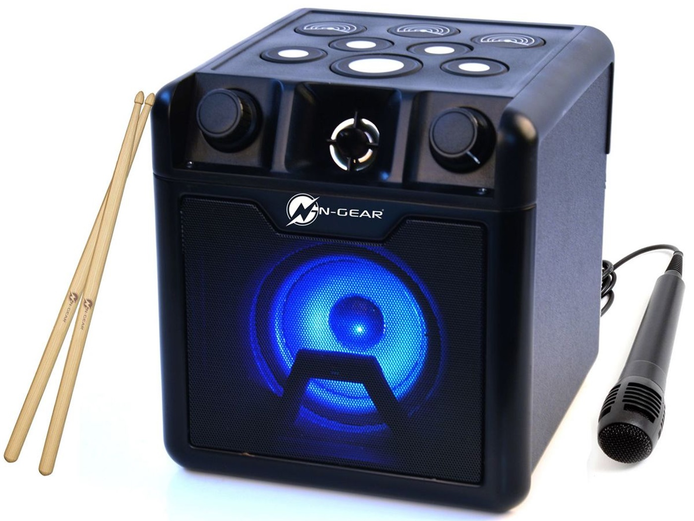 N-Gear karaoke + bubnjevi Drum Block 420
