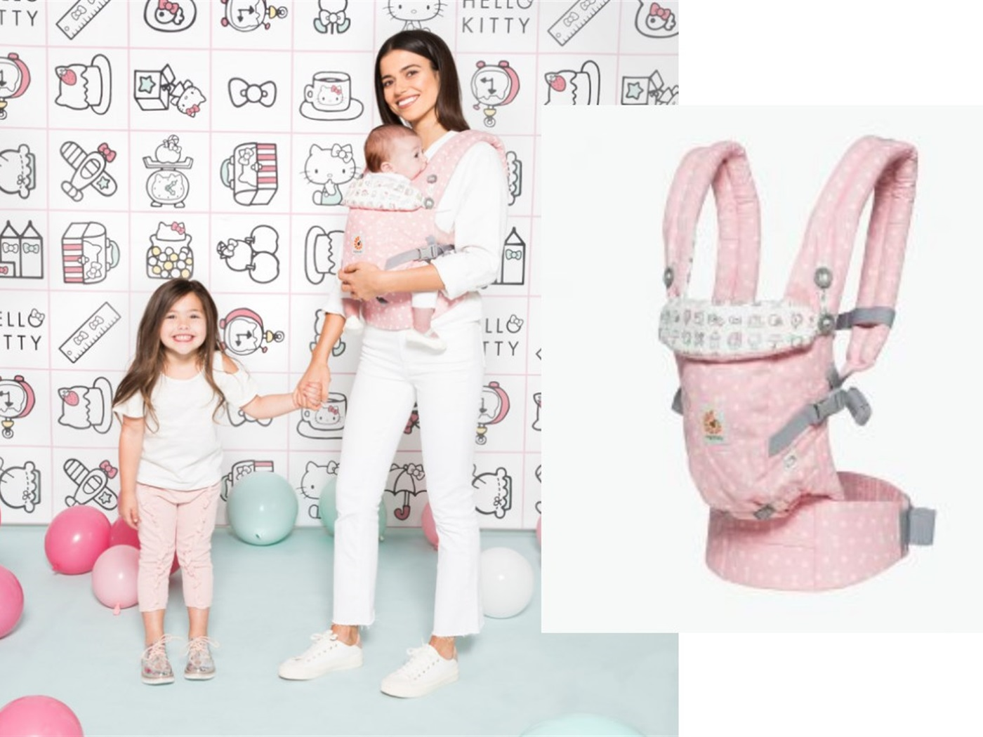 Ergobaby Adapt Hello Kitty nosiljka