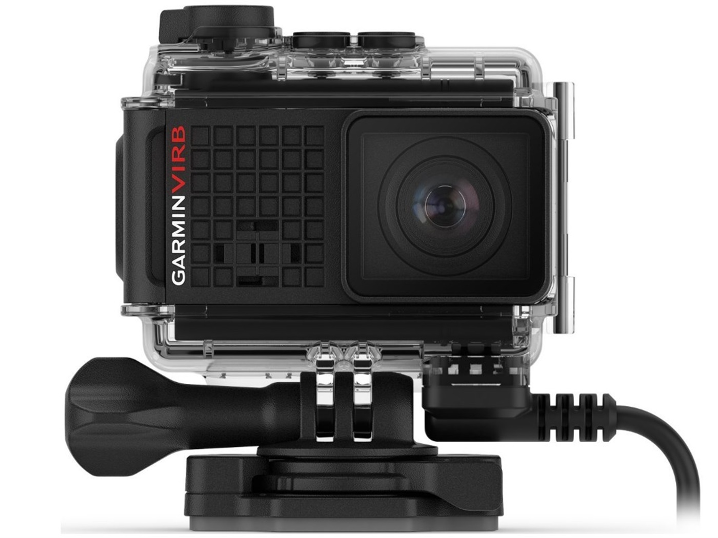 Garmin   v i r b ®   ultra   3 0   action   camera  with   powered   mount