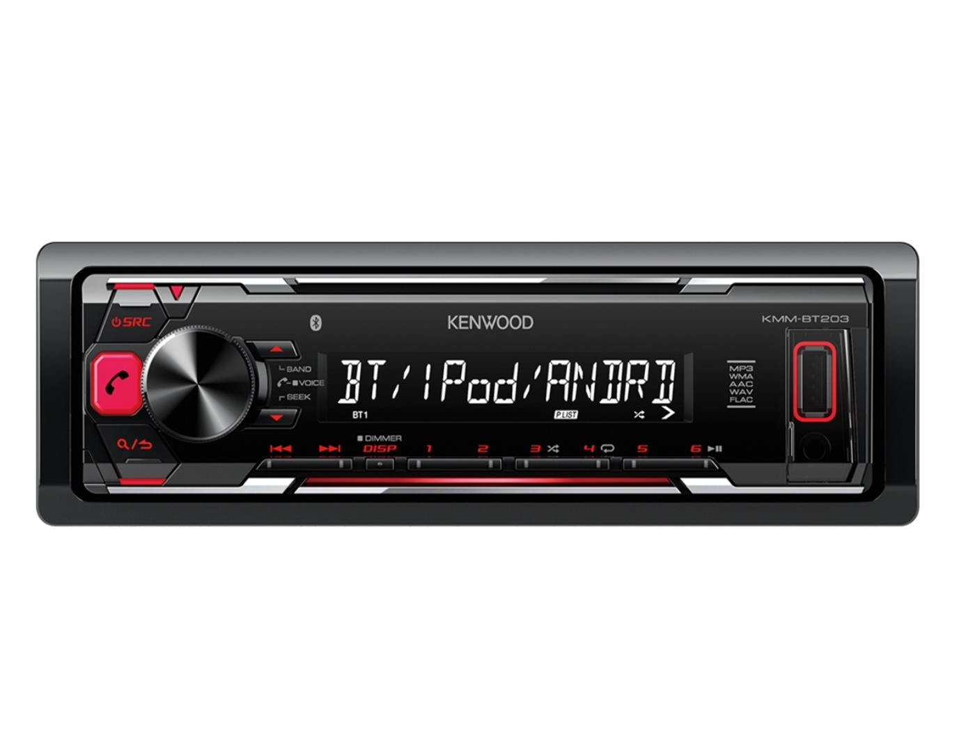 Auto radio KENWOOD KMM-203BT