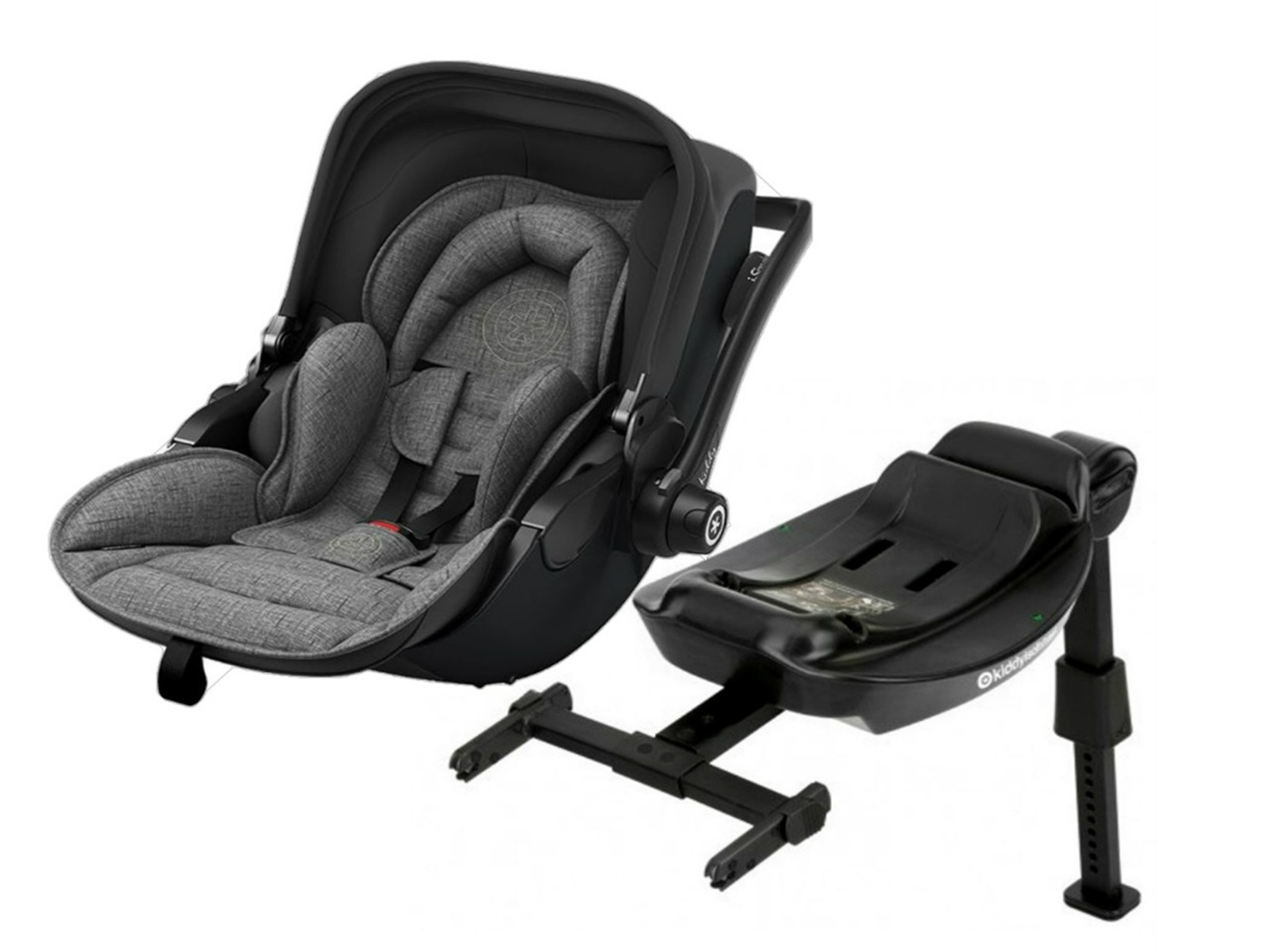 Kiddy   evoluna  i   size   2   car   seat       melange   grey   icy   grey