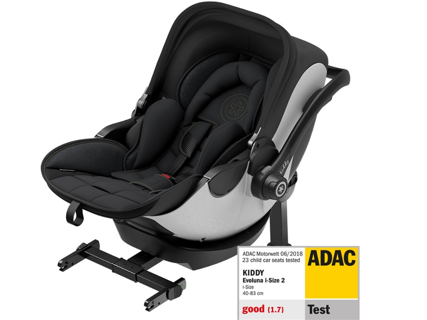 Kiddy   evoluna  i   size   2   car   seat      speed  black  gt