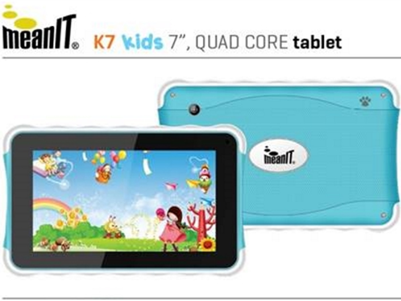 Meanit K7 dječji tablet