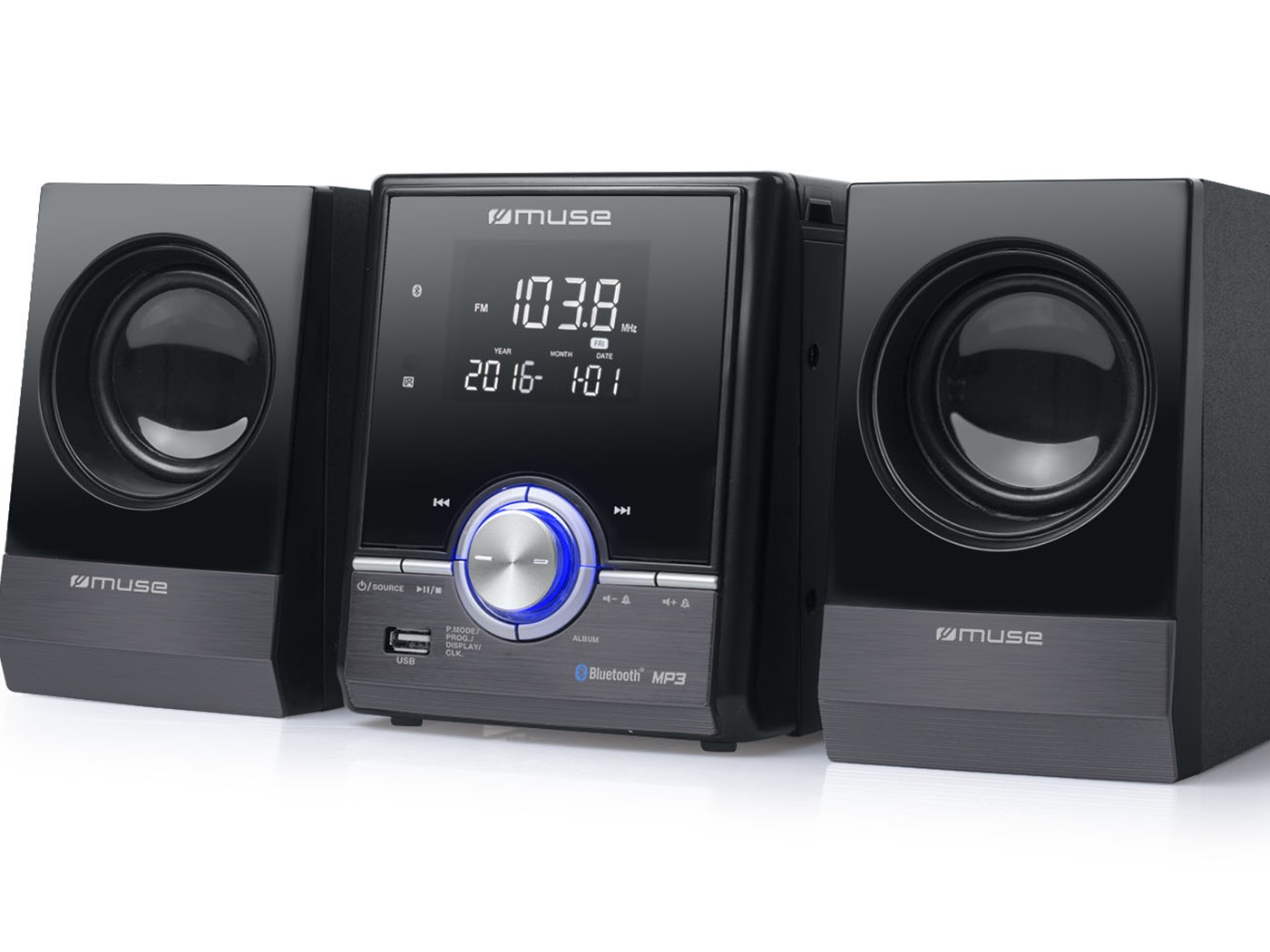 MUSE MIKRO HIFI LINIJA MP3/BT/USB/MP3 M-38BT