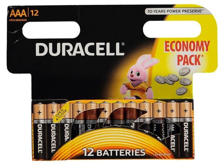 Baterije Duracell AAA Economy pack