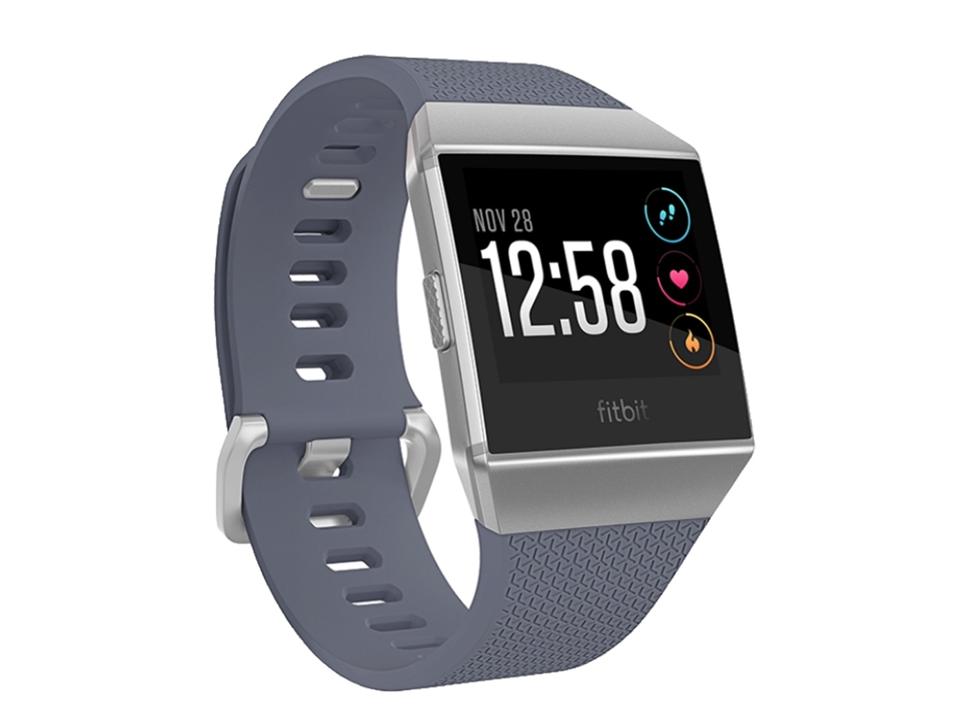 fitbit  ionic  blue  gray  solver  gray