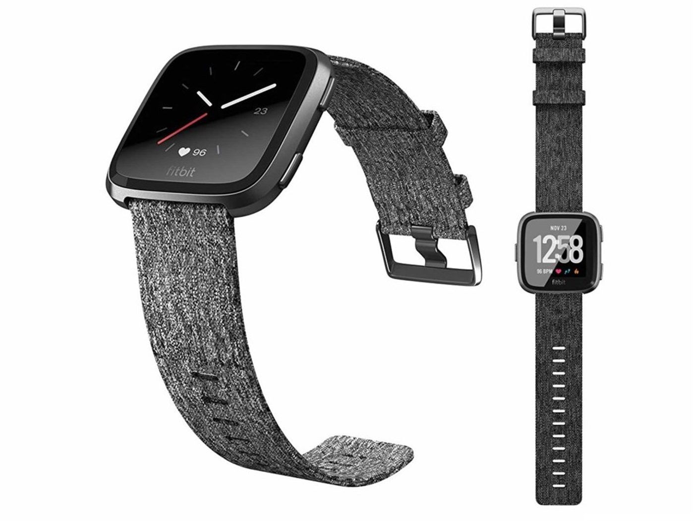 Fitbit versa n f cspecialedition  charcoalwoven