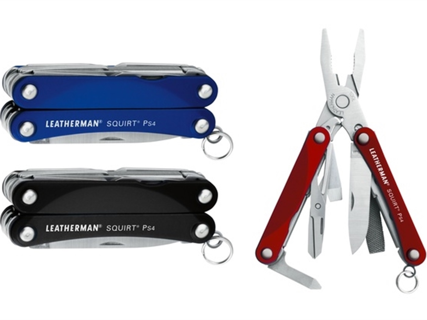 Leatherman Squirt PS4 multialat