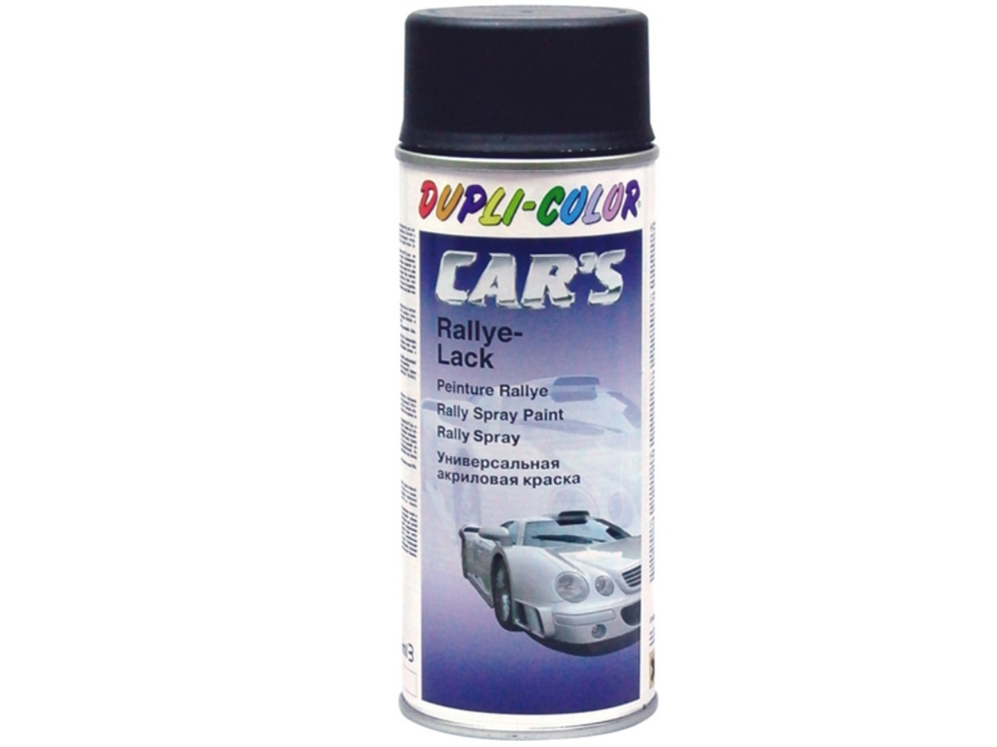 Lak crni sjajni 400 ml Motip cars spray 385865